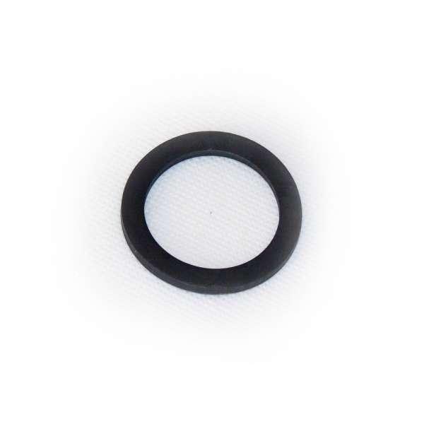 Dichtung 45x34x3 mm Abmessung aus Gummi als Ring flach für G 1 1/2 Zoll Innengewinde