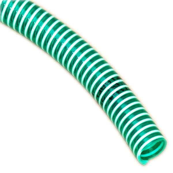 38 mm Spiralschlauch grün für Garten