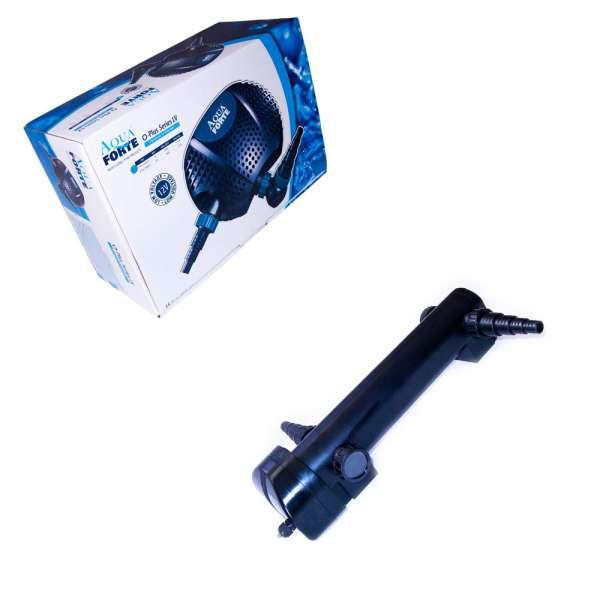 Eco Schwimmteichset mit 12V Pumpe und 36W UV Teichlampe