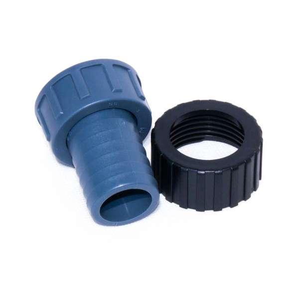 Ersatzteil Kontermutter mit 32 mm Anschluss für Van Gerven TL UV Klärer