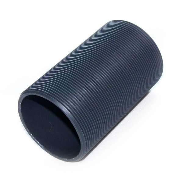 Gewinderohr G 2 1/2 Zoll x 120mm Länge aus PVC Kunststoff für Tankdurchführungen