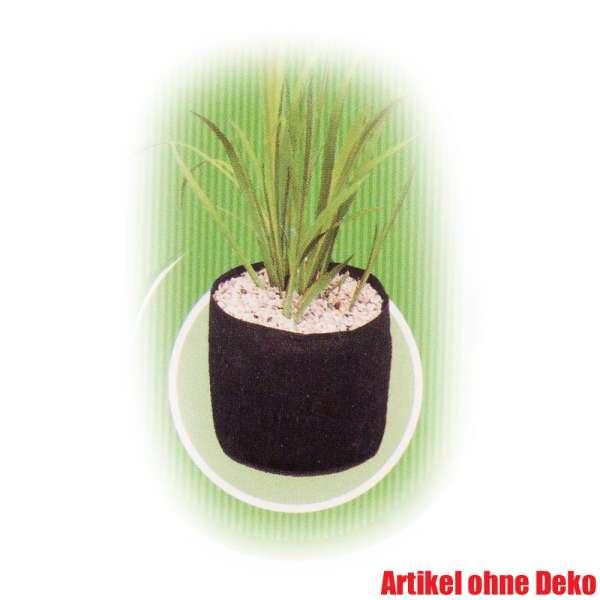 Pflanzkorb textil 25 x 20 cm rund für Teichpflanzen