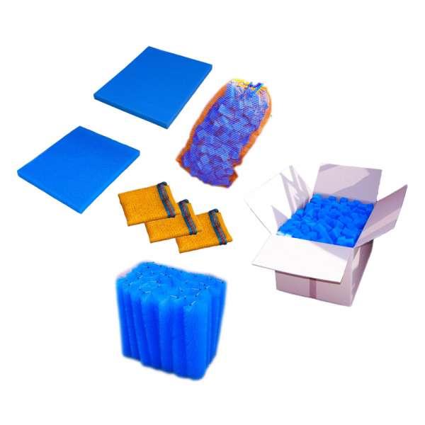 Filtermaterial im Set für Teichfilter bis 15000l Wasser
