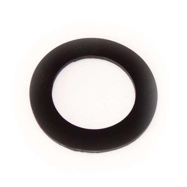 Flachdichtung 77 x 50 x 3 mm aus EPDM Gummi als Ring