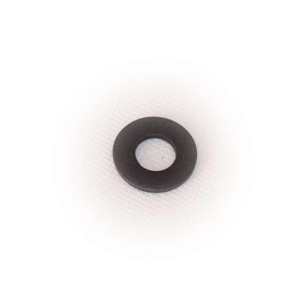 Flachdichtung 23 x 11 x 2 mm aus EPDM Gummi als Ring