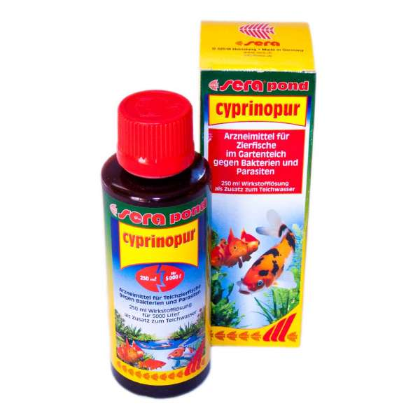 Sera Pond Cyprinopur 250ml gegen Fischkrankheiten