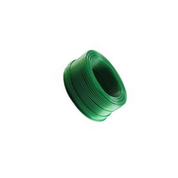 4mm Schlauch auf 100m Rolle in grün für Belüfter im Teich und Aquarium