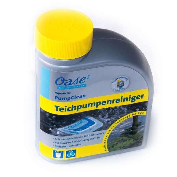 Oase Teichpumpen Reiniger und Entkalker 500 ml für Teichpumpen, Siebe und UVC Quarzgläser