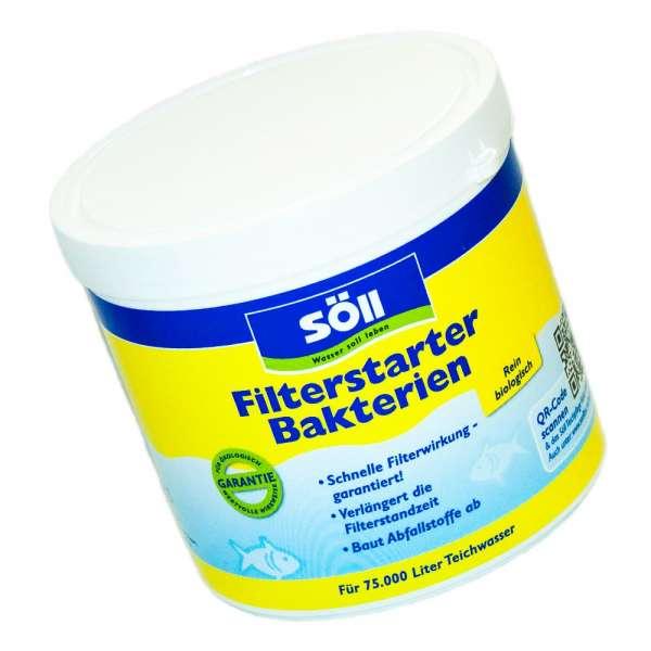 Ideal zum Filterstart sind diese Bakterien von Söll