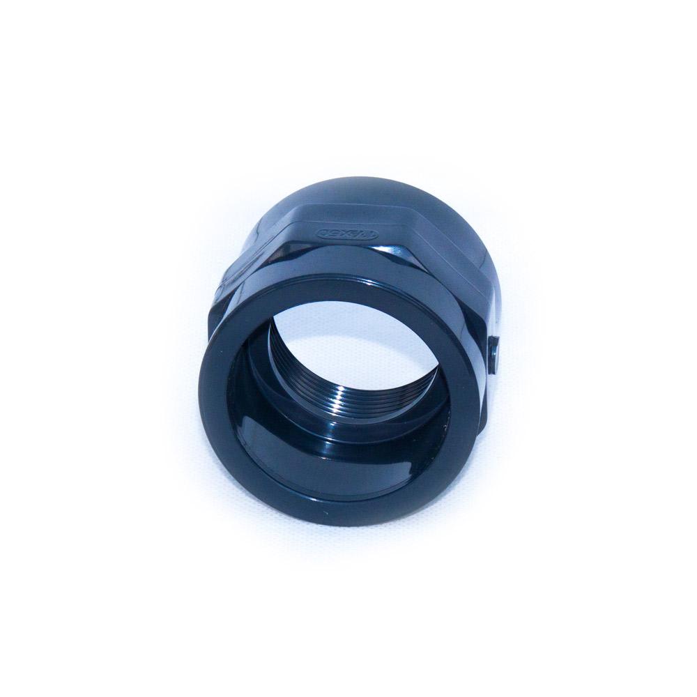"""Schraubmuffe aus PVC-U 50 mm mit G 1 1//2/"""" Gewinde"""