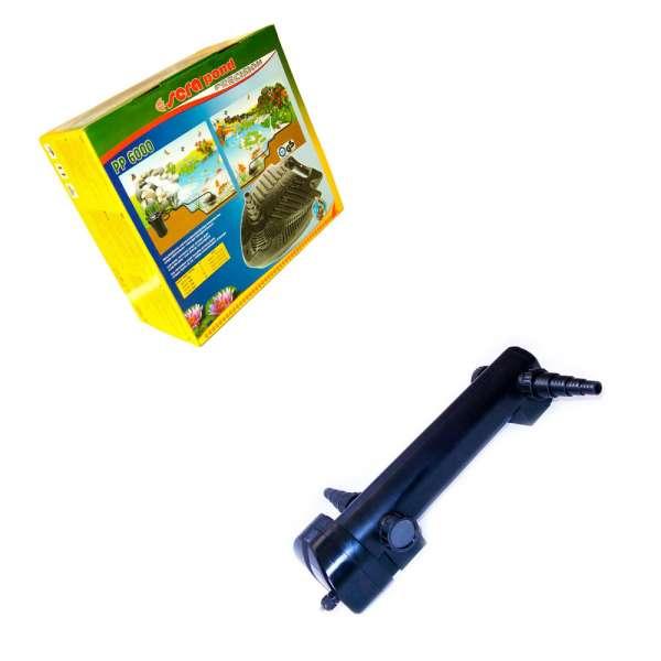 Sera PP 6000 Teichpumpe mit UV Klärer Eco 36 W für Gartenteichfilter