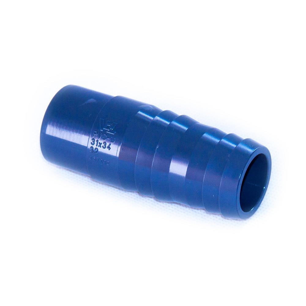 vdl pvc u anschlusst lle 32 mm f r schl uche zum kleben teichpflege