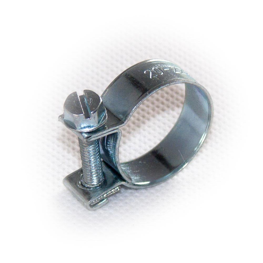 Schlauchschellen Spannbackenschellen Mini Stahl verzinkt Benzinschlauch 8-18mm