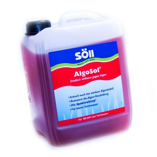 Söll AlgoSol 5l für 100000l Koiteiche gegen Faden- und Blaualgen