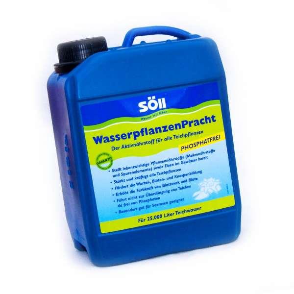 Söll Wasserpflanzen Dünger 2,5l bis 25000l Teichwasser für prächtige Pflanzen