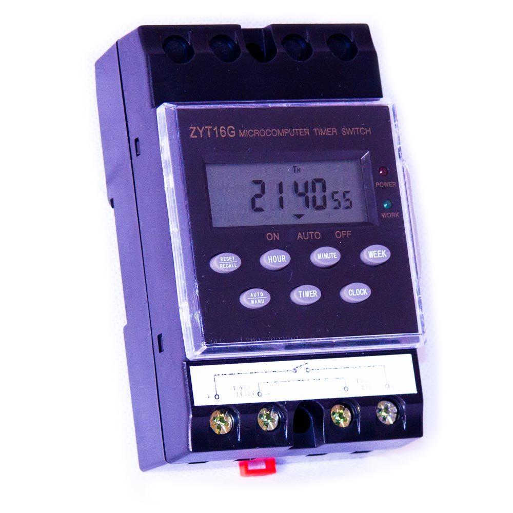 zeitschaltuhr digital 25 ampere 12 volt dc. Black Bedroom Furniture Sets. Home Design Ideas